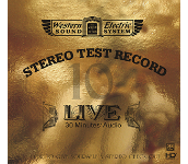 Western Electric -STEREO TEST RECORD- / Numerous artists